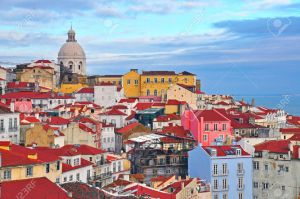 27331925-Colorful-houses-of-Alfama-district-Lisbon-Portugal-Stock-Photo